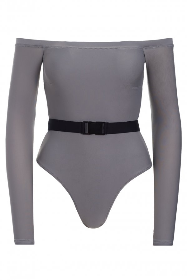 Smokey Off-Shoulder Swimsuit