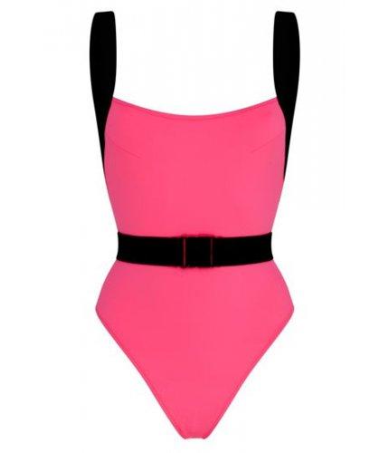 Neon Pink Miami Swimsuit