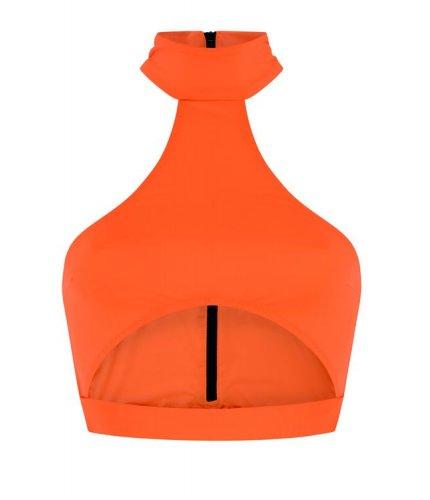Neon Orange Bahamas Top