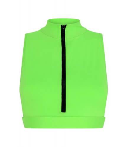 Neon Green Malibu Top