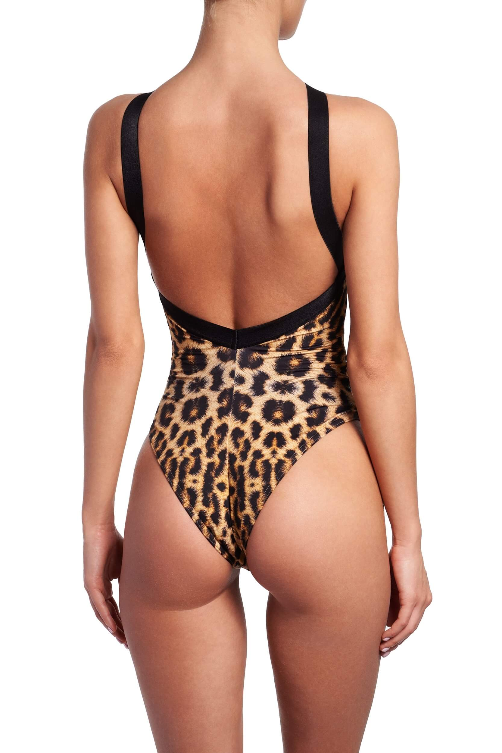 LEOPARD PUSHUP ONE PIECE BACK