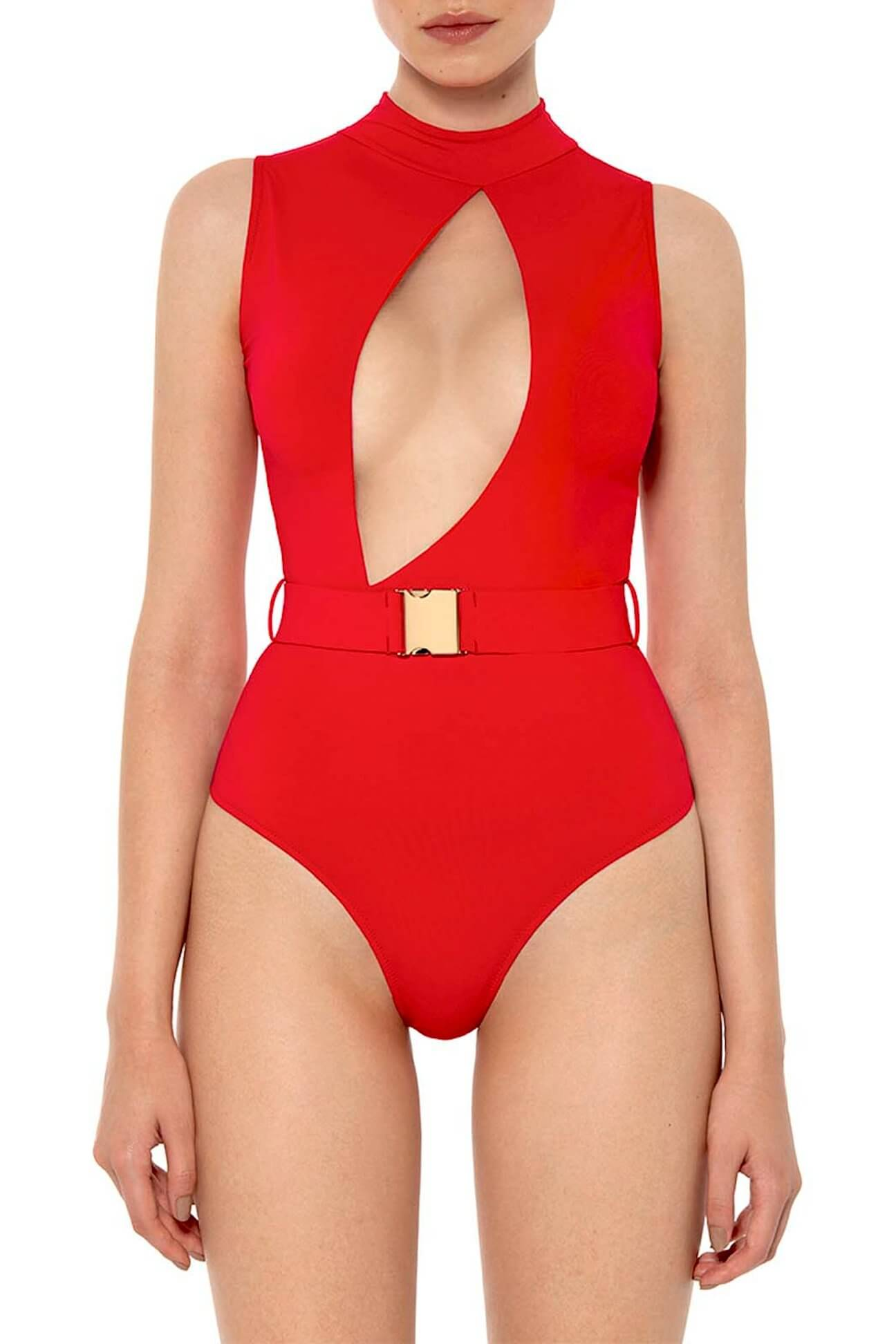b3a8dc7908f Red Instinct One Piece - Halter Neck Swimsuits - One-Piece Swimsuits ...