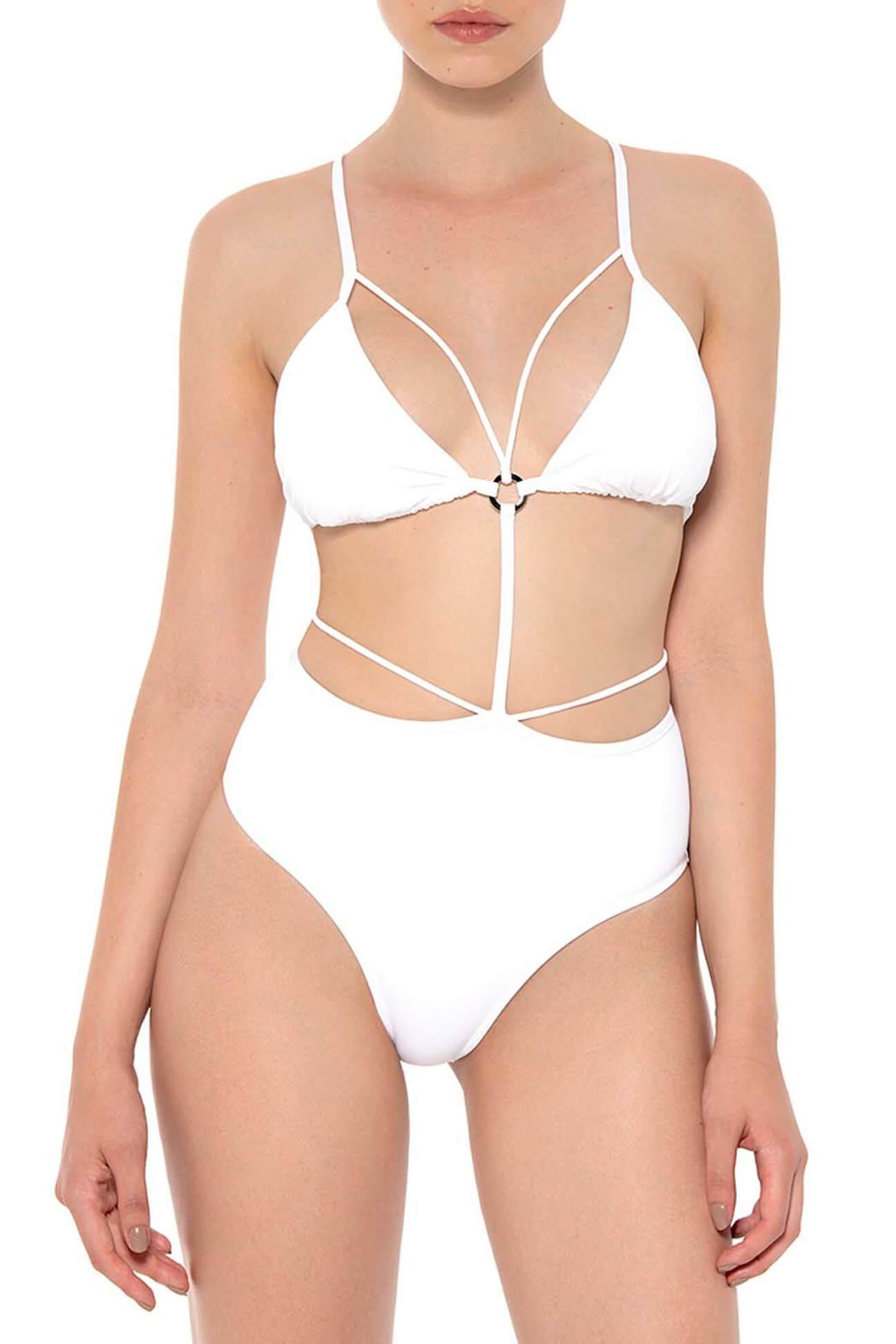 White Temptation Monokini