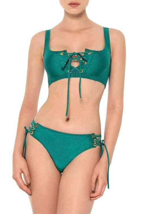Smarald Crop Top Bikini