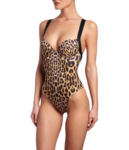 Leopard Push-Up One Piece