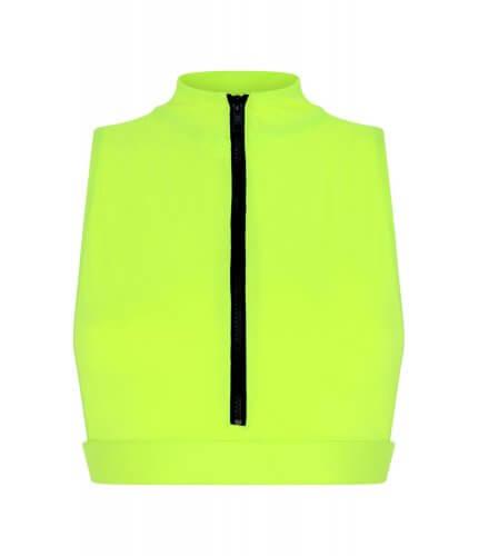 Neon Yellow Malibu Top