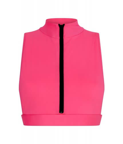 Neon Pink Malibu Top