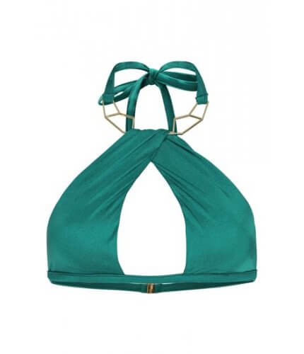 Emerald Gold Necklace Top