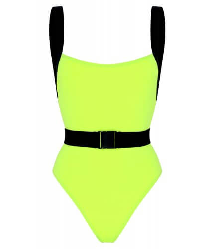 Neon Yellow Miami Swimsuit