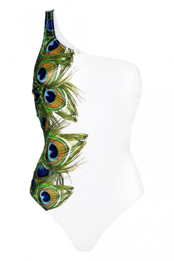 Peacock One Shoulder