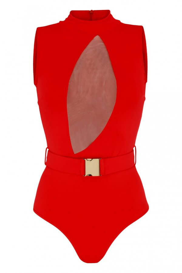 Red Instinct One Piece