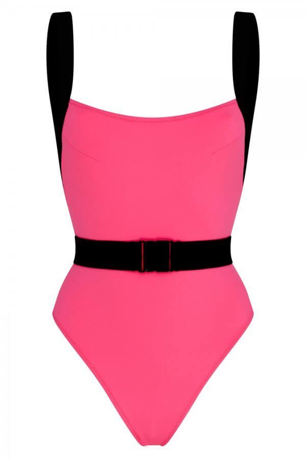 Neon Pink Miami Swimsuit