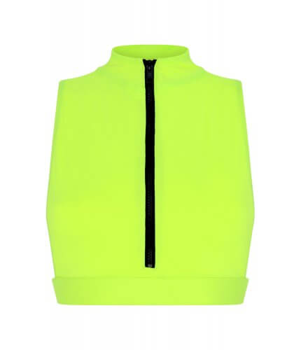 Neon Yellow Malibu Top