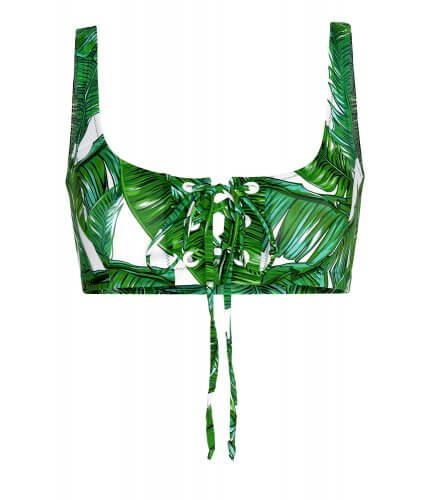 Jungle Crop Top Bikini