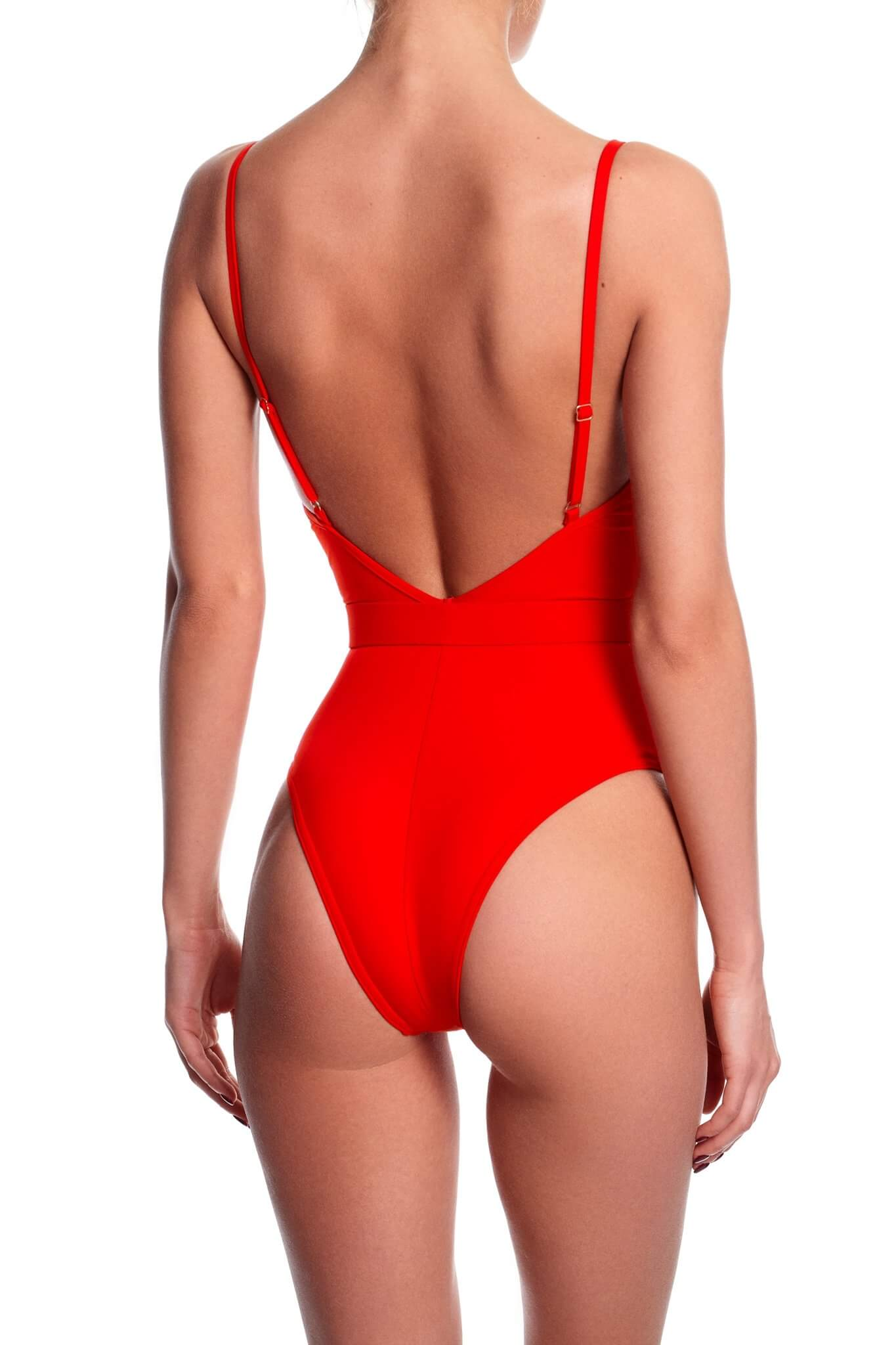 Iconic Red One-Piece