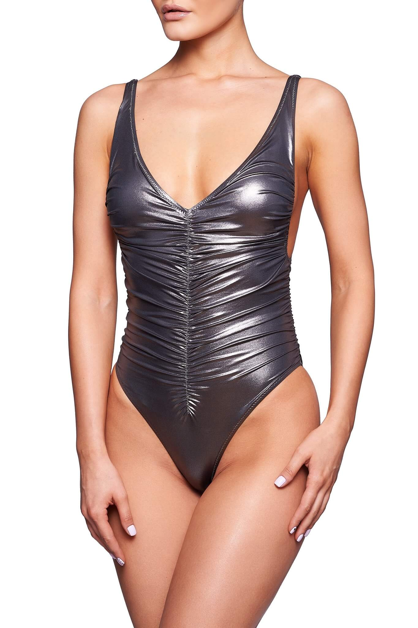 Formentera Gun Metal One-Piece