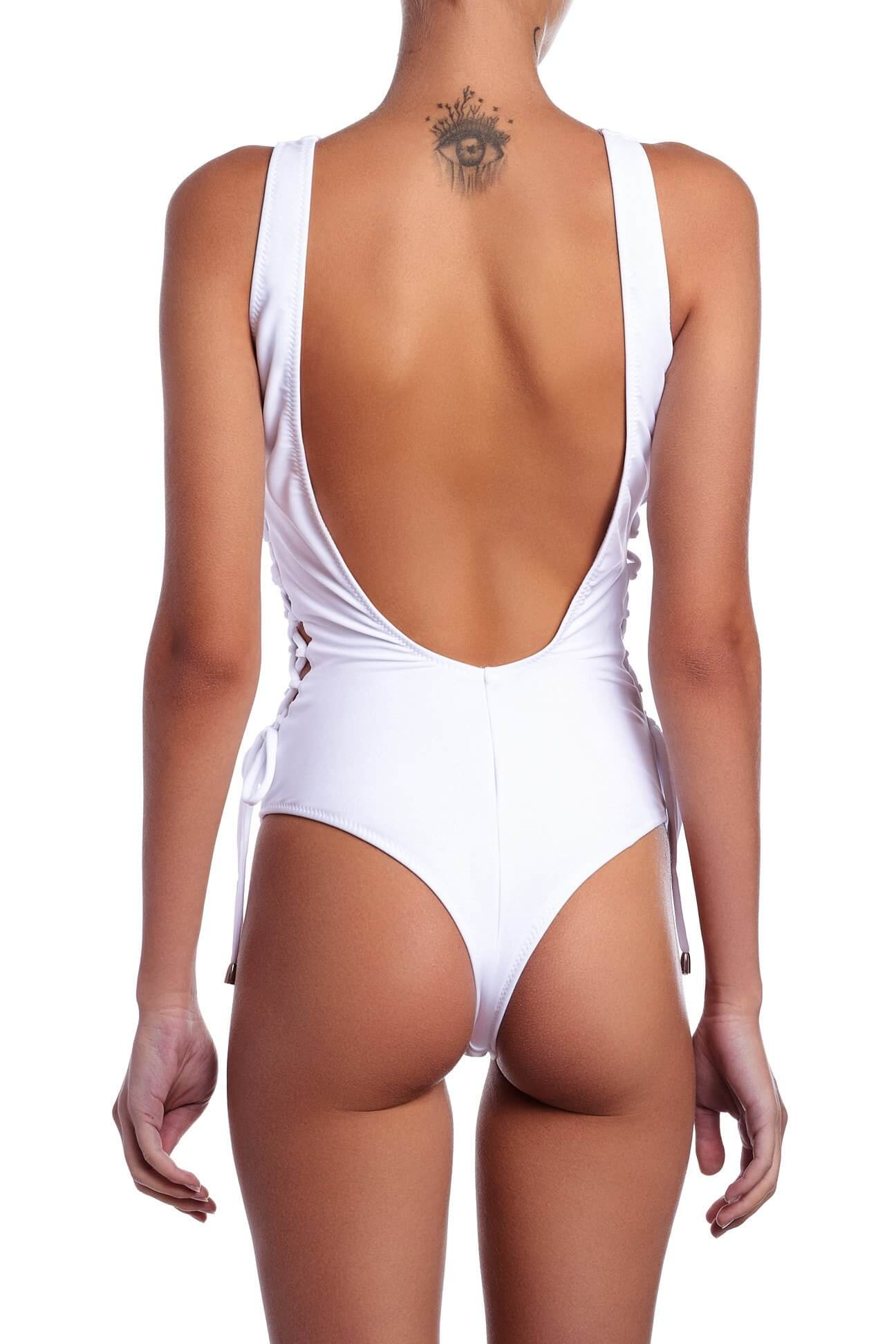 One Piece White Kylie 2017