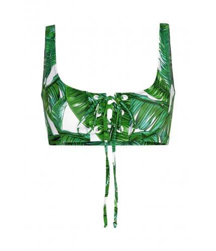 Jungle Crop Top Bikini