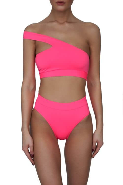 Neon Pink Male Top